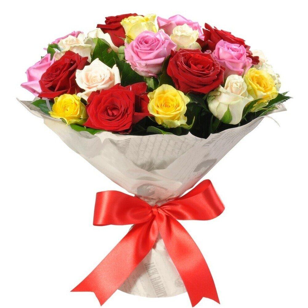 Цветов дешево, дешевые букеты из роз самара